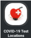 COVID-19 Test Locations Icon